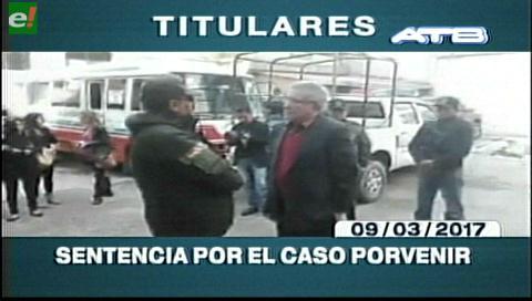 Video titulares de noticias de TV – Bolivia, mediodía del jueves 9 de marzo de 2017
