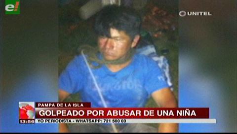 Propinan golpiza a un hombre acusado de abusar de una niña de 6 años
