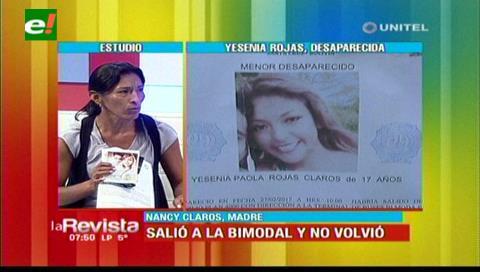 Madre busca a su hija que desapareció cuando fue a recoger una encomienda