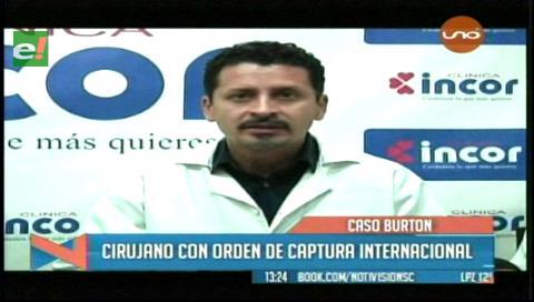 Caso Burton: Médico José David Añez con orden de captura internacional