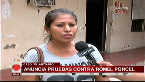 """Dueña de """"El Antojito"""" dice tener pruebas contra el concejal Pórcel"""
