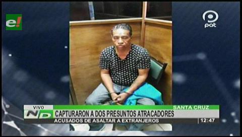 Santa Cruz: Capturan a dos presuntos atracadores de extranjeros