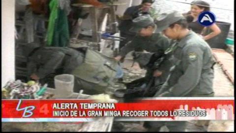 Santa Cruz: Minga contra mosquito se realizó con éxito el fin de semana en el Distrito 4