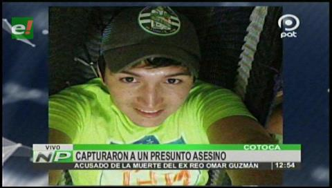 Capturan al presunto asesino de un ex reo de Palmasola