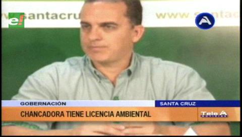"""Roly Aguilera: """"Chancadora cuenta con licencia ambiental"""""""