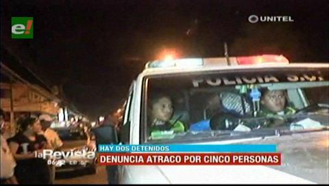 Santa Cruz: Un hombre fue atracado por cinco sujetos en la avenida Piraí