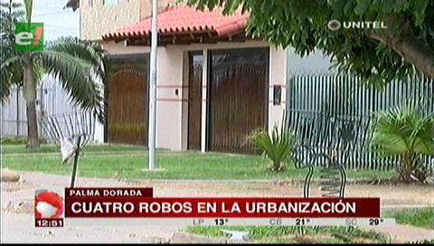 Barrio Palma Dorada: Robo en una vivienda causa temor entre los vecinos