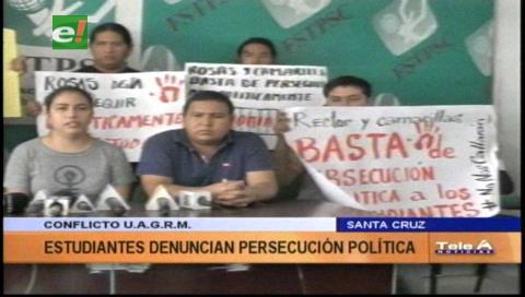 Uagrm: Universitarios denuncian persecución pese a convenio firmado