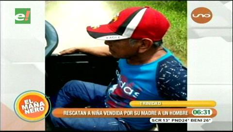 Trinidad: Aprehenden a hombre que compró una niña de 10 años