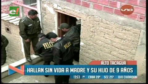La Paz: Hallan muertos a madre e hijo en una casa de Alto Tacagua