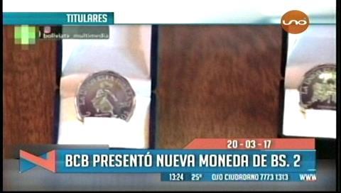 Video titulares de noticias de TV – Bolivia, mediodía del lunes 20 de marzo de 2017