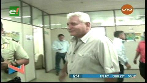 Suspenden audiencia de Rubén Costas
