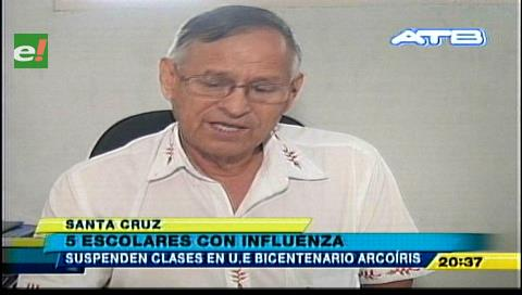 Se disparan los casos de influenza en Santa Cruz