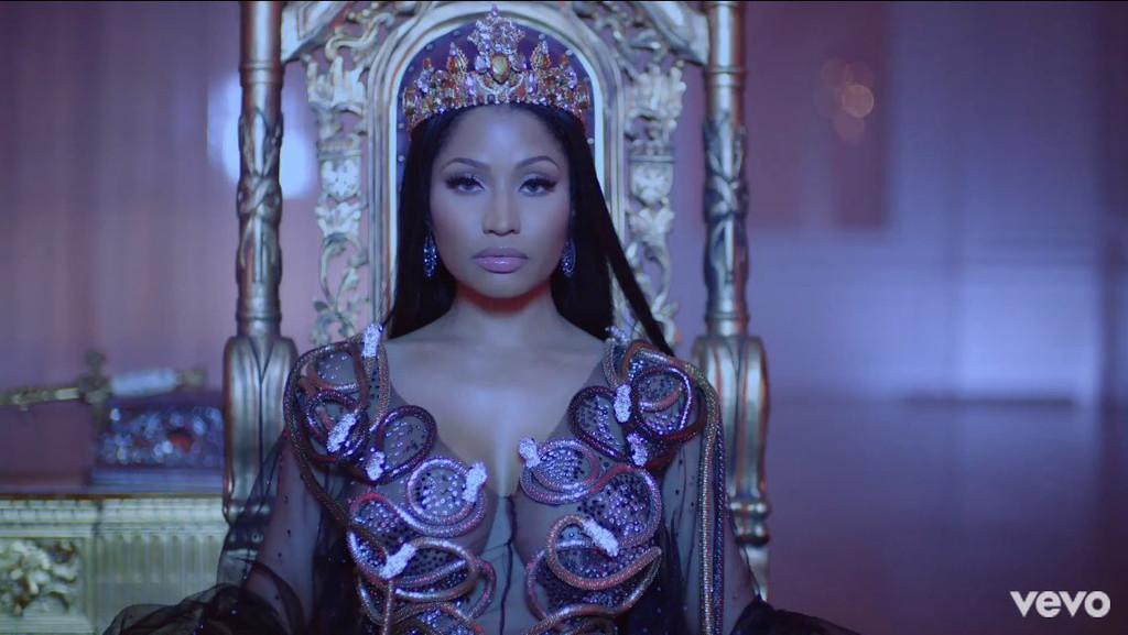 Nicki Minaj, no frauds video