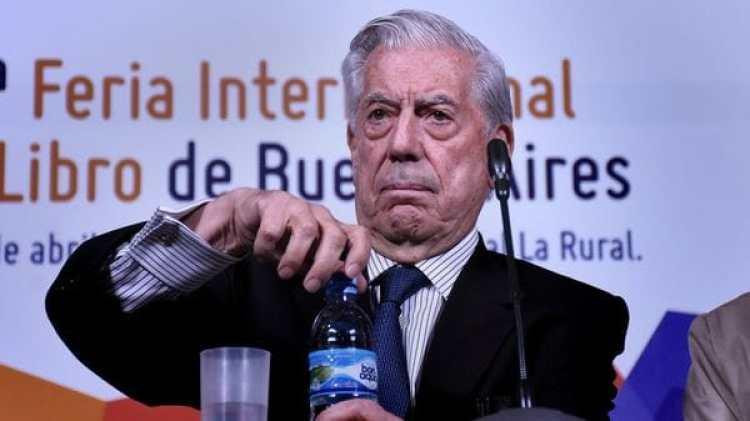 Mario Vargas Llosa (Foto: Nicolás Stulberg)
