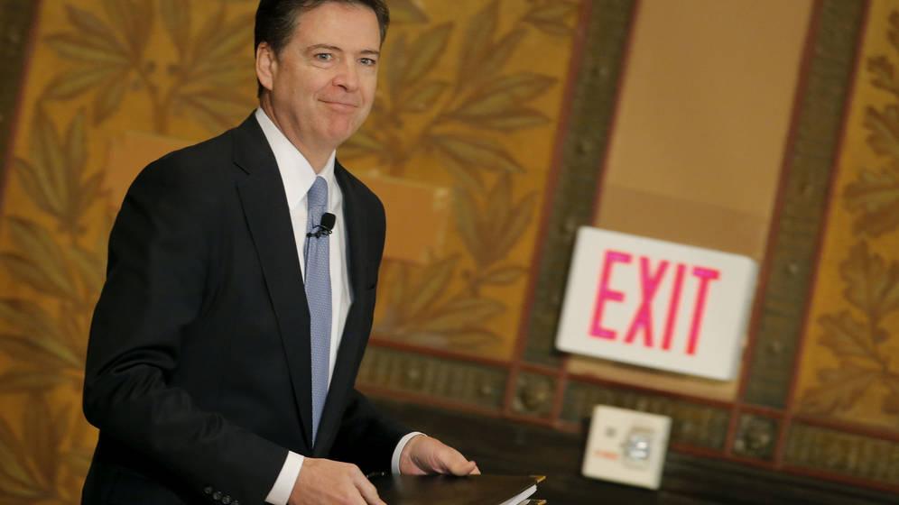 Foto: El exdirector del FBI James Comey, en una imagen de archivo. (EFE)
