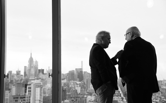 Ian Schrager y Howard Lorber