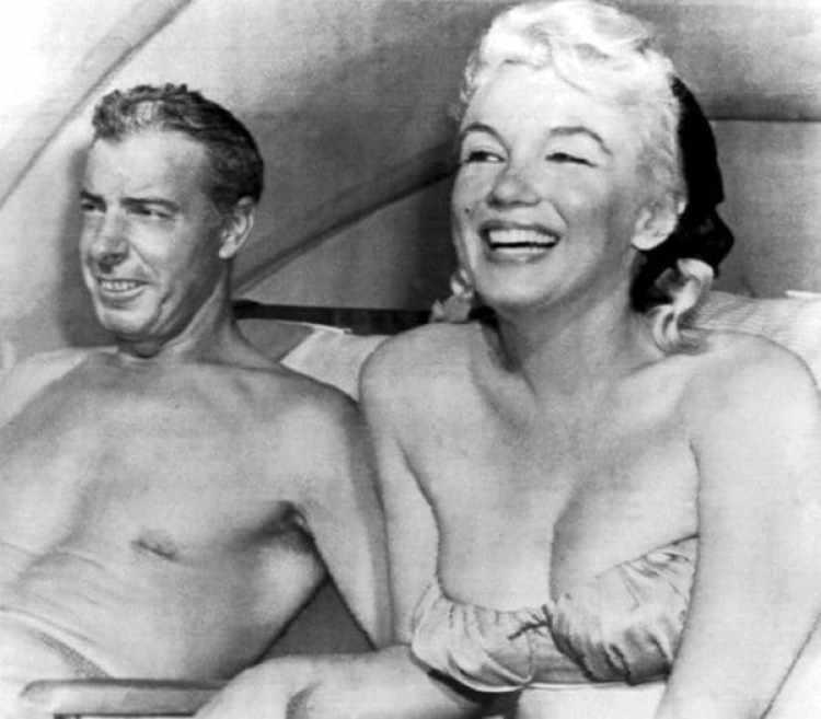 """""""Era como si estuviesen luchando los dioses, había rayos y truenos"""", describió Positano los encuentros sexuales de DiMaggio y Monroe"""