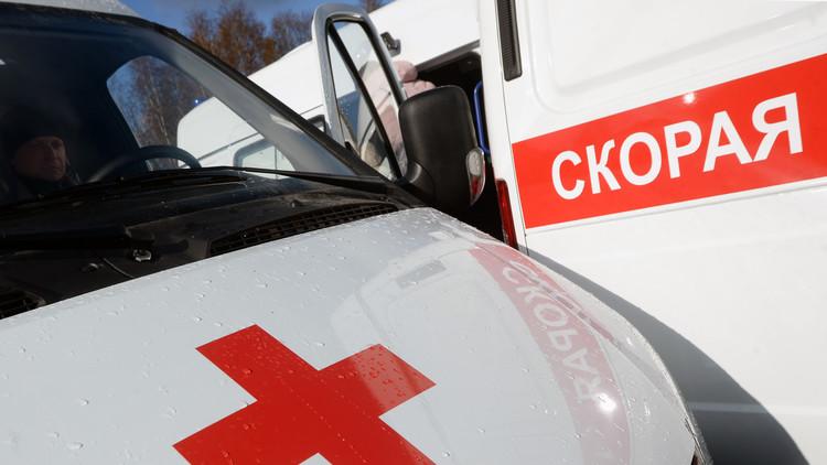 VIDEO: Al menos dos muertos tras el derrumbe de un edificio en Rusia