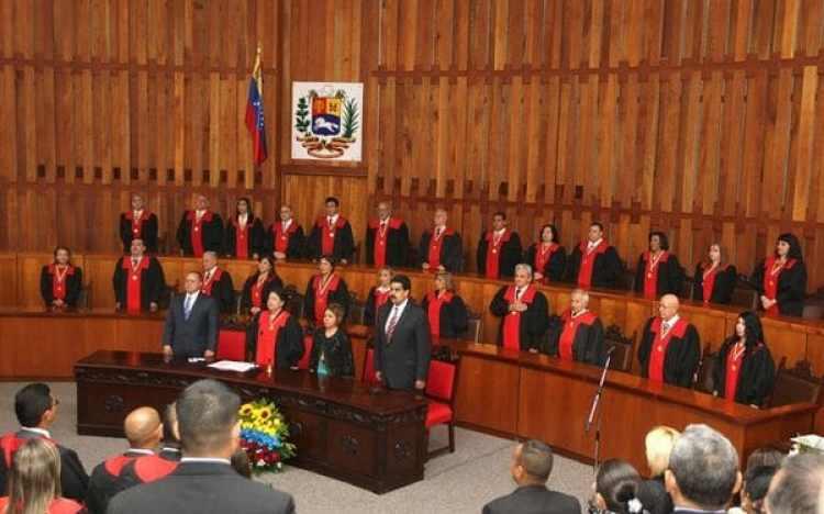 El Tribunal Supremo de Justicia de Venezuela