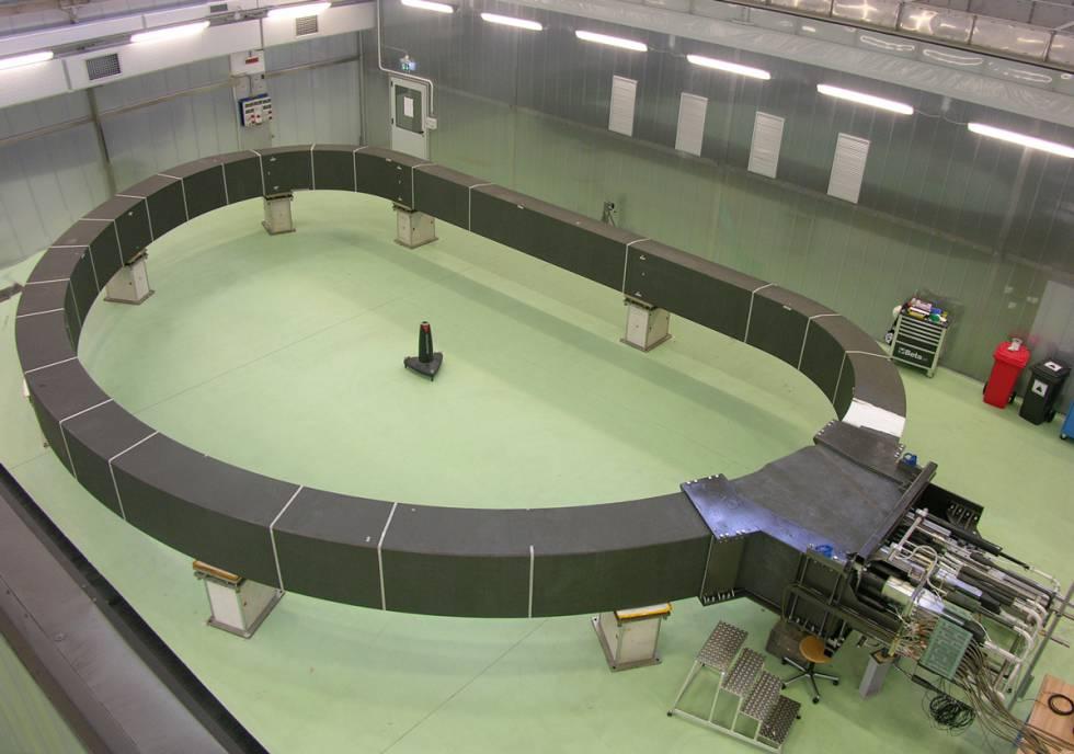 El imán del reactor de fusión nuclear ITER, en La Spezia (Italia).