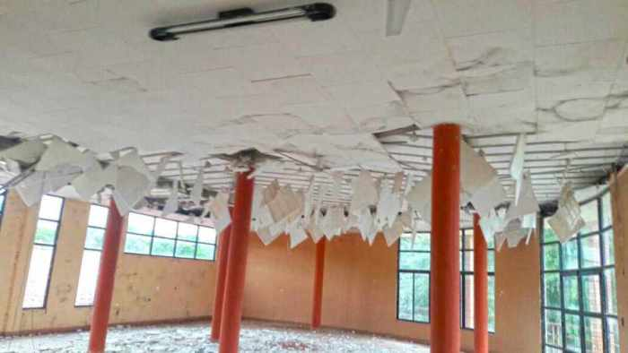 En Villa Montes, obra  de $us. 1 millón se  cae a pedazos