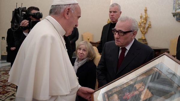 Francisco también ha recibido a personalidades destacadas, como el director Martin Scorsese (AFP)