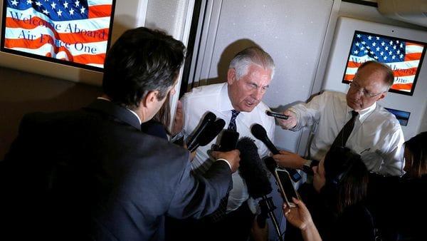 Tillerson habló de la importancia de la incorporación de la OTAN a la coalición internacional (Reuters)