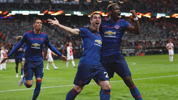 El Manchester United consigue la Europa League tras derrotar al Ajax