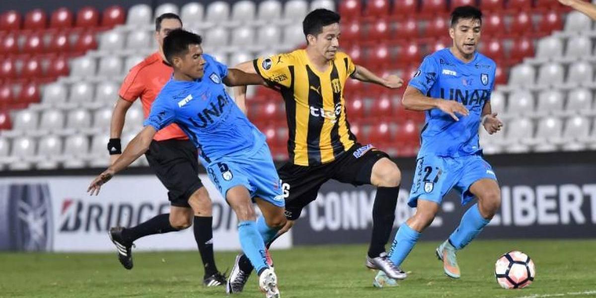 Resultado de imagen de Deportes Iquique igualó con Guaraní y se deberá conformar con la Conmebol Sudamericana