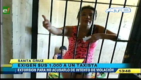 Detienen a tres personas acusadas de extorsión a un taxista