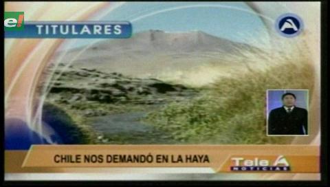 Video titulares de noticias de TV – Bolivia, noche del lunes 22 de mayo de 2017