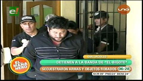 Cochabamba: Cae El Bigotes, ladrón de casas y tiendas del Valle Bajo