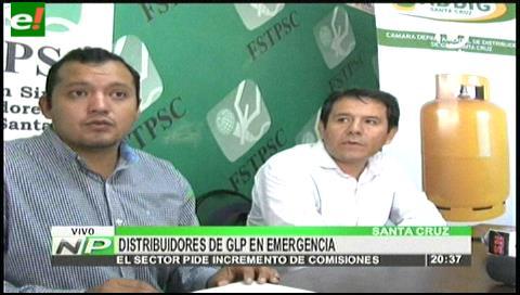 Emergencia: Cinco distribuidoras de gas han cerrado a la fecha en Santa Cruz