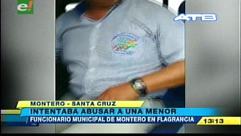 Montero: Hallan a funcionario municipal intentando violar a una menor