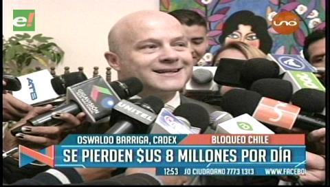 Con el paro aduanero en Chile los exportadores bolivianos pierden $us 5 millones por día