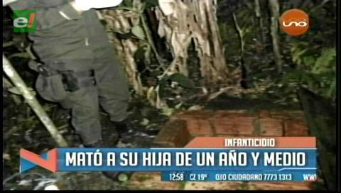 Villa Tunari: Madre mata a su hija de un año y medio y la arroja a un pozo séptico