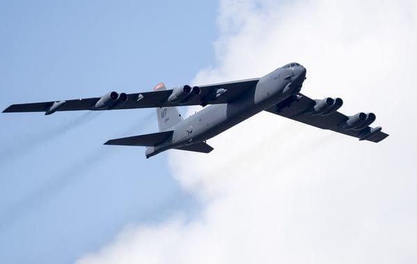 Bombardero B-52 (AP)