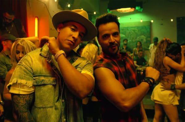 """En la lista Latin Pop Songs de Billboard, la canción """"Despacito"""" permanece en el top desde hace 17 semanas"""