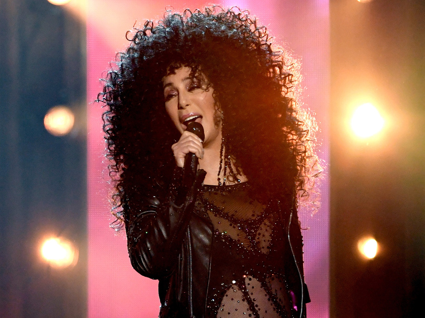 Cher, durante su reciente actuación en los Billboard Awards.