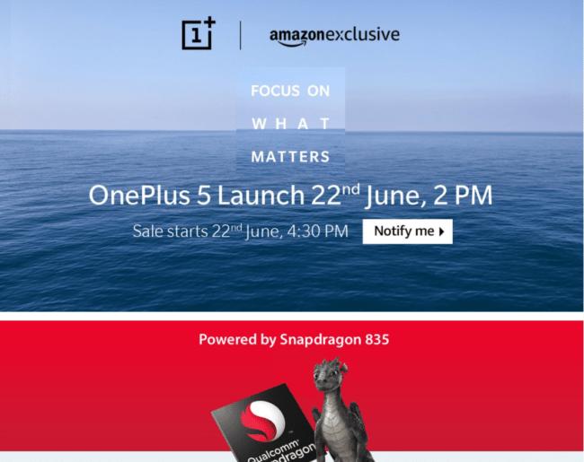 OnePlus en Amazon