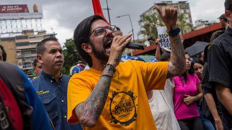 Protestas en Caracas este martes 7 de junio