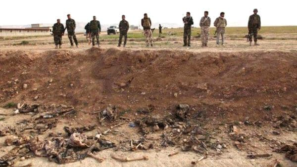 Los cuerpos fueron encontrados en la ciudad de Tikrit, en la gobernación de Saladino