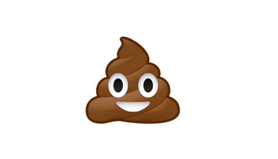 El emoji que parece un popo es un helado e chocolate. (Foto: Captura)