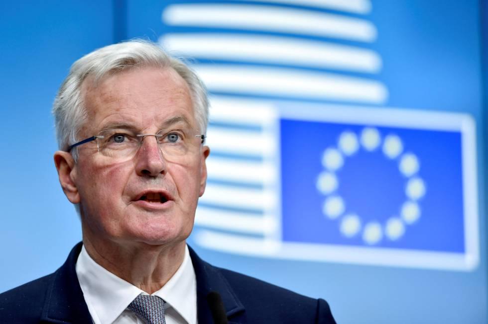El negociador europeo Michel Barnier.