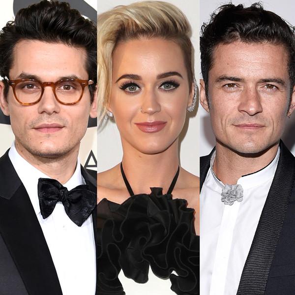 Katy Perry, Diplo, John Mayer, Orlando Bloom