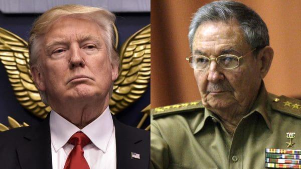 Donald Trump prometió revisar todos los acuerdos entre los Estados Unidos y Cuba que realizó Barack Obama