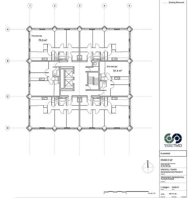 Plano de la Torre Grenfell
