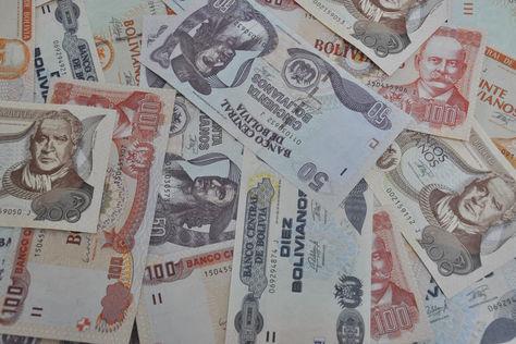 Billetes bolivianos que se utilizan para todo tipo de transacción en el país. Foto: BCB