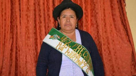 La concejala de San Lucas, Eva Martínez (CST). Foto: Correo del Sur